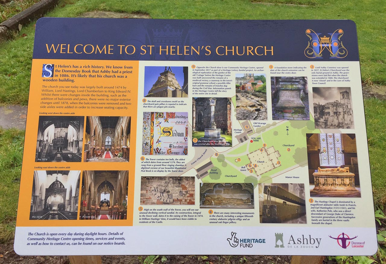 St Helens Church, Ashby-de-la-Zouch, Leicestershire