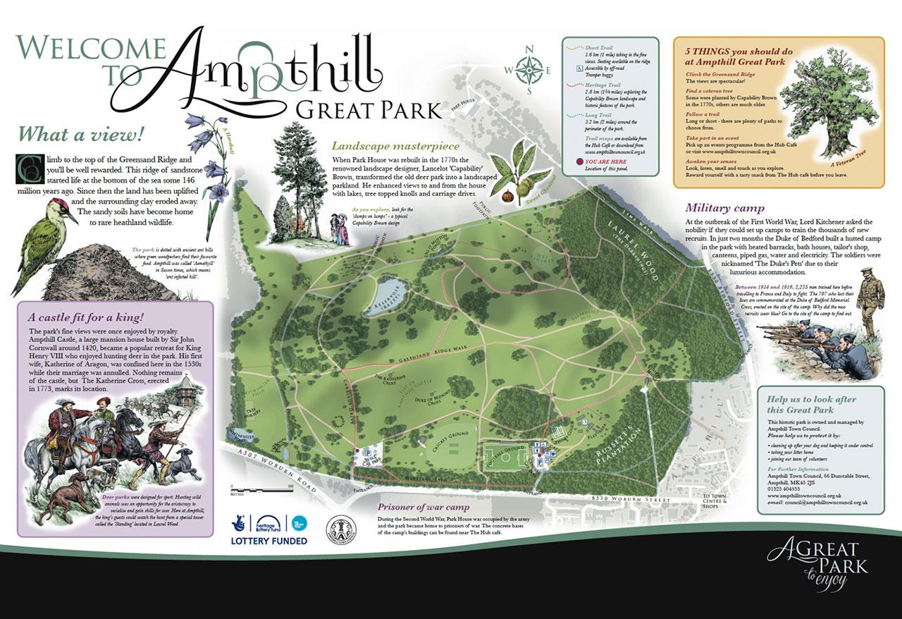 Ampthill Great Park, Ampthill, Bedfordshire