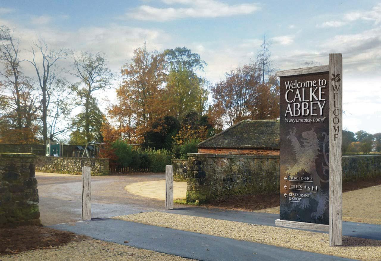 National Trust Calke Abbey, Derbyshire