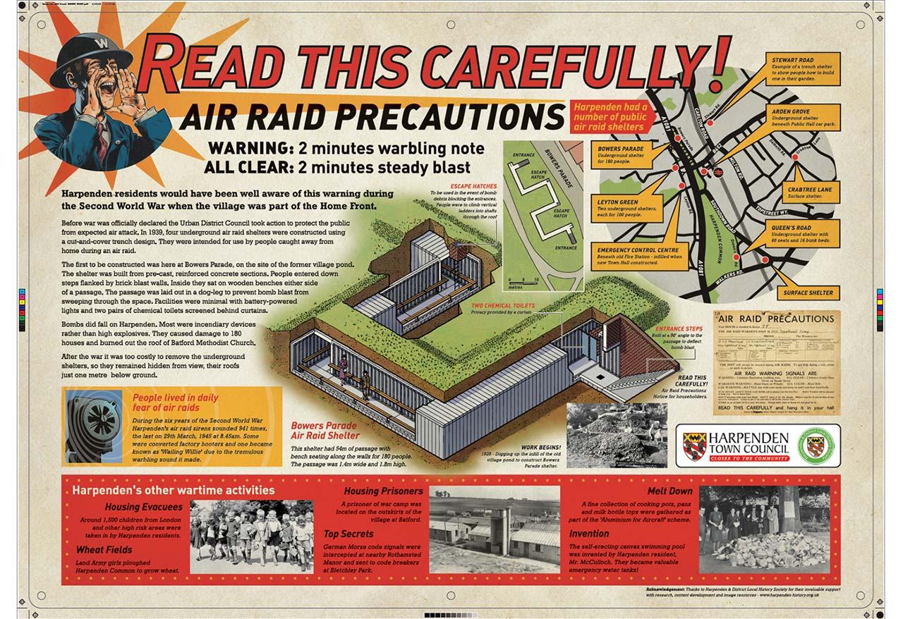 Harpenden Air Raid Shelters, St Albans, Hertfordshire